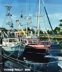 Ulladulla docks painting