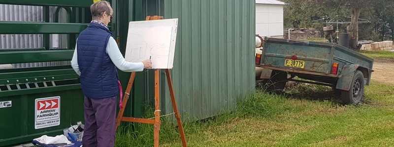 PLEIN AIR PAINTING WITH CHRIS ALLEN MAY 2019