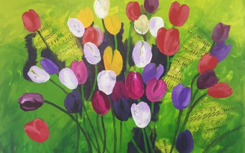 MACRO FLORAL PAINTING WORKSHOP